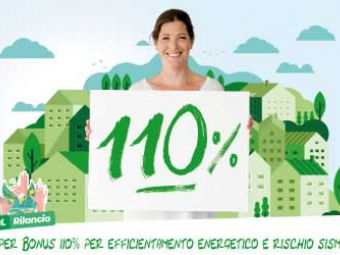 Super Bonus 110% per efficientamento energetico e rischio sismico